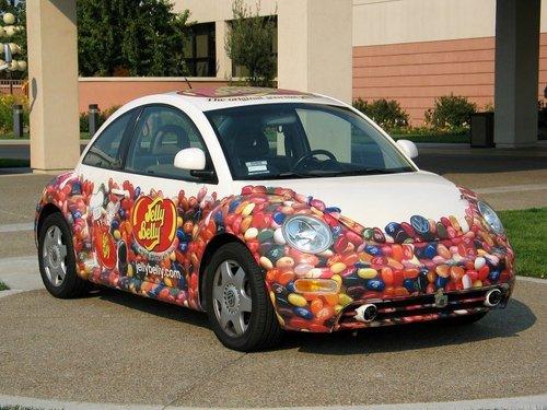 jelly bean car