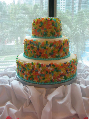 jelly belly cake