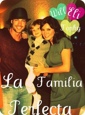 William Levy Gutierrez wallpaper with a sign called la familia perfecta