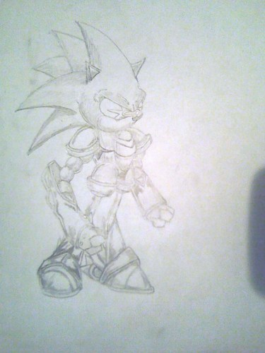 metal sonic from sonic 3