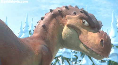 Ice Age 3 Dawn Of The Dinosaurs Wallpaper Entitled Momma Dino Wallpapers