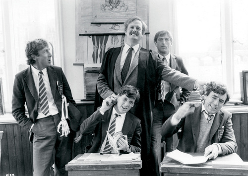 Monty Python wallpaper with a business suit called monty python