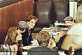 more photo cast on dinner - twilight-series photo