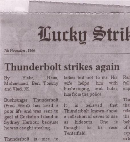 Captain Thunderbolt 1866