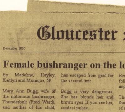 Mary Ann Bugg - 1860