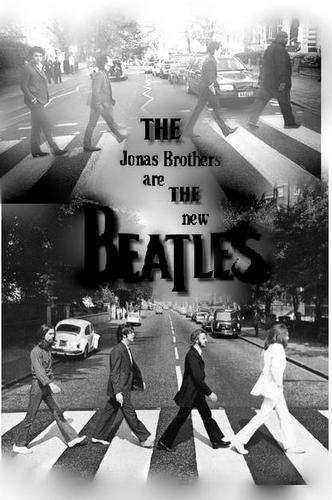 the jonas brothers are the new beatles
