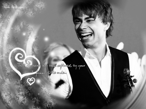 Alexander Rybak wallpaper titled wallpapers by me :)