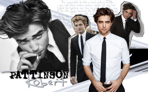 "Robert Pattinson wallpaper with a business suit called ""Rob In Style"" wallpaper"