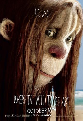 Where The Wild Things Are wallpaper titled 'Where The Wild Things Are' Movie Characte Poster ~ KW