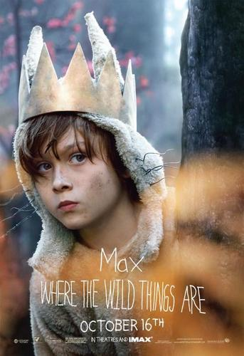 'Where The Wild Things Are' Movie Characte Poster ~ Max