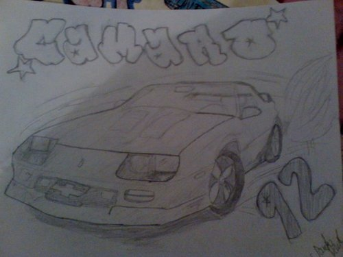 92 camaro - muscle-cars Fan Art