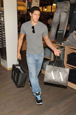 Alex at Armani Exchange