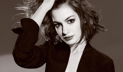 Anne Hathaway in Elle Magazine