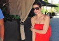 Ashley Greene at Roosevelt Hotel Pool