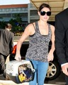 Ashley departing from LAX (sept. 7) - twilight-series photo
