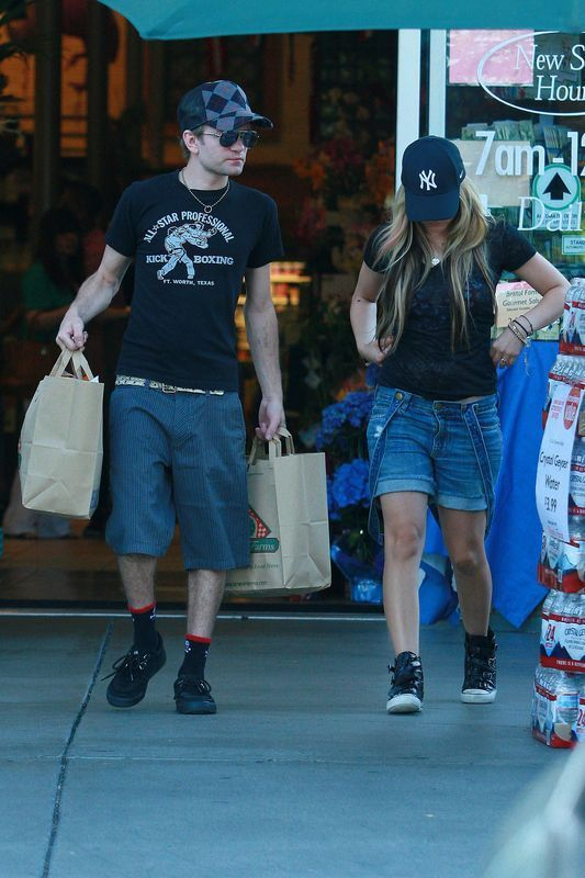 deryck whibley and avril. Deryck Whibley: Avril Lavigne