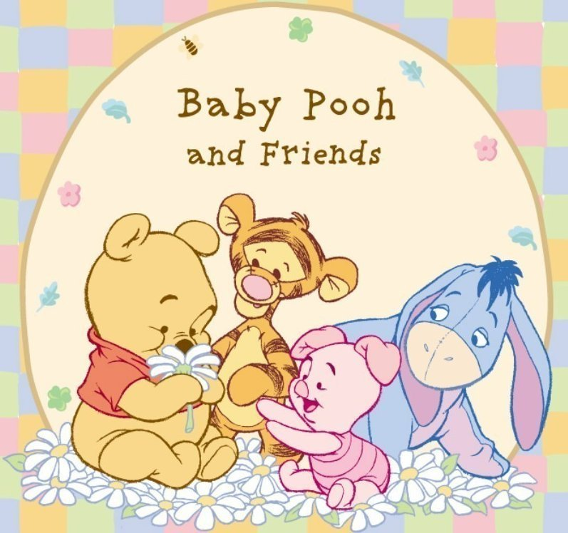 Baby Winnie And Friends - Disney Photo  8033792