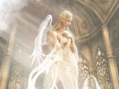 angeli wallpaper called Beautiful Angel