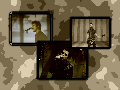 Green Day wallpaper titled Billie Joe Amnstrong wallpaper
