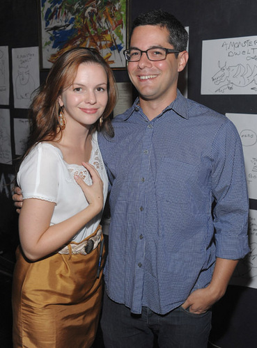 Amber Tamblyn wallpaper called Book Release Party