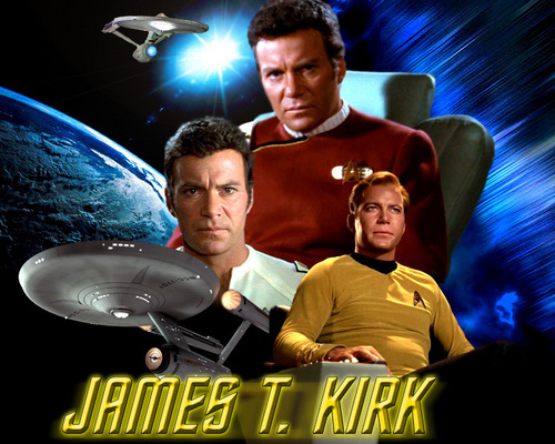 Captain James Tiberious Kirk