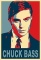 Chuck Bass - Obama poster style