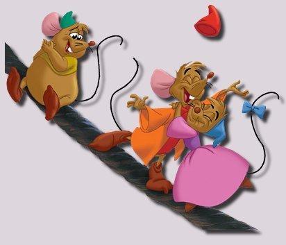 Disney Hintergrund entitled Cinderella's mice