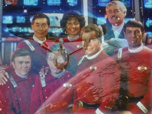 Du hành giữa các vì sao hình nền titled Crew of the Enterprise