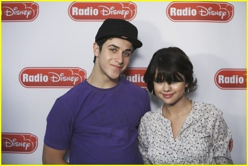 David & Selena Take Over Radio Disney