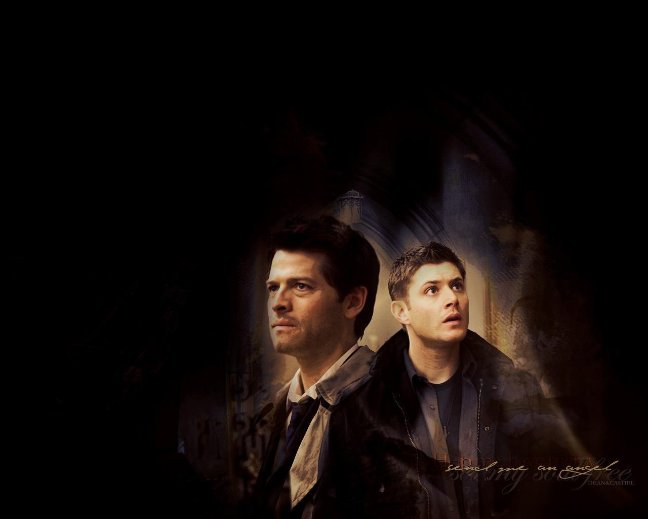 Dean and castiel images dean amp castiel hd wallpaper and background