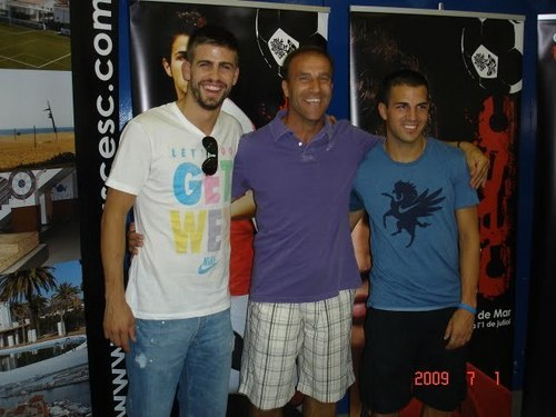 Different Cesc & Pique photos