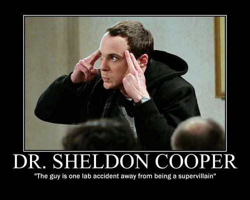 The Big Bang Theory wallpaper possibly with a business suit and a portrait titled Dr. Sheldon Cooper - The Guy....