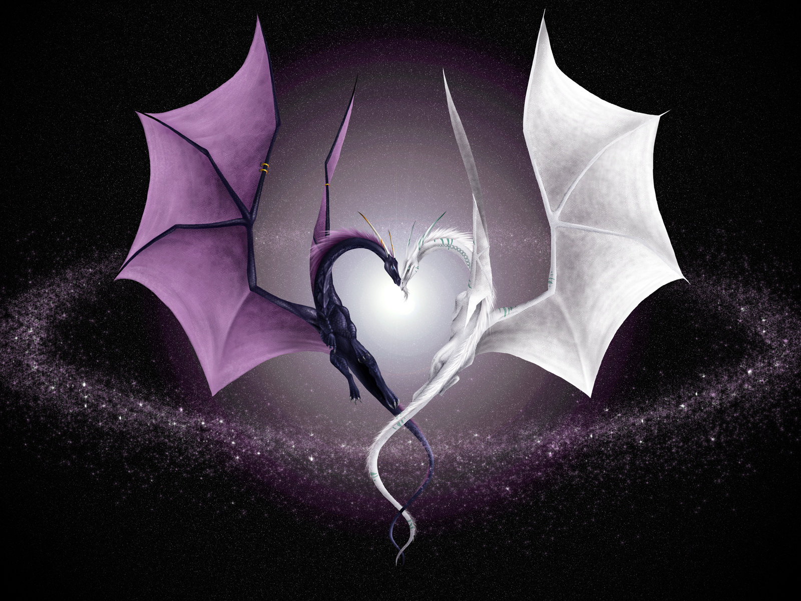 Dragons Love Heart