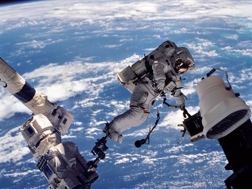 Earth / o espaço