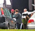 Eclipse stars on set - twilight-series photo