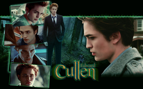 Robert Pattinson wallpaper probably with a sign titled Edward Cullen
