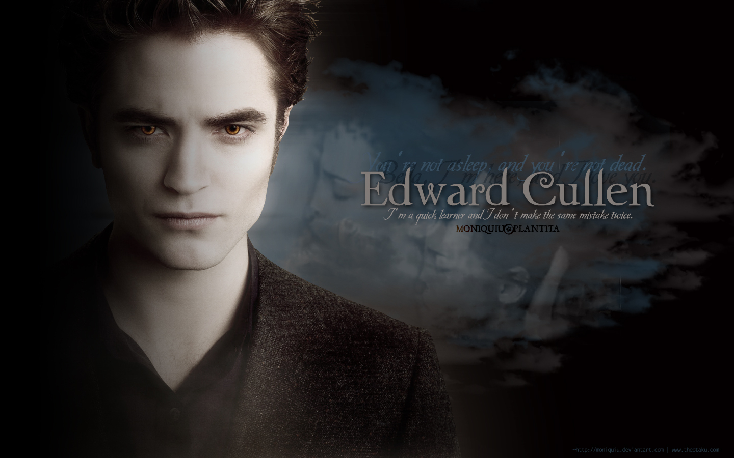 Twilight quotes cullen family and jake wallpaper quotes for Twilight edward photos