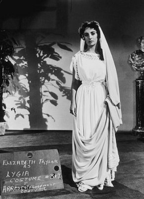 Elizabeth Taylor images Elizabeth Taylor Screen Test for Quo Vadis wallpaper and background photos