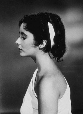 Elizabeth Taylor Screen Test for Quo Vadis