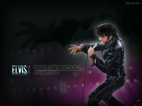 Elvis Comeback Special 40th Aniversary wallpaper