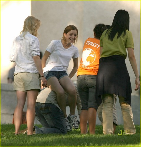 Emma Watson: Brown Freshman Orientation