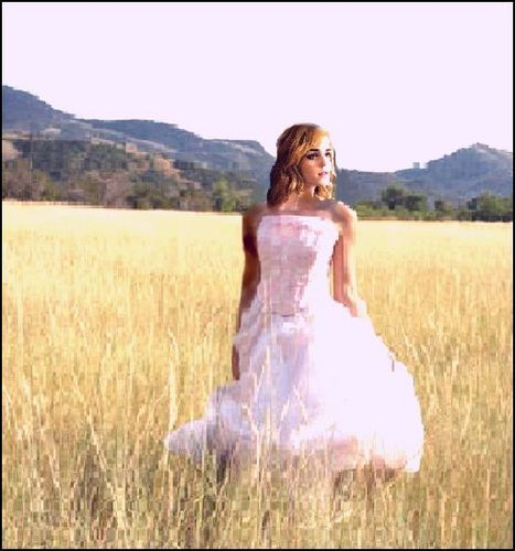 "Emma Watson ""Field of Dreams"" Manip // VintageHeart // Don't use."