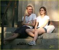 Emma Watson & Jay Barrymore: Brown Buddies - kristen-stewart-vs-emma-watson photo