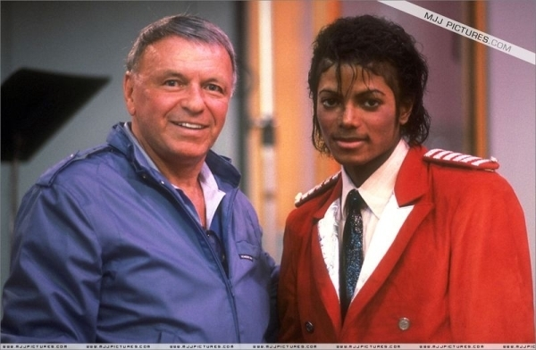 Image result for frank sinatra and michael jackson