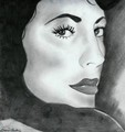 Glam Girl - drawing photo