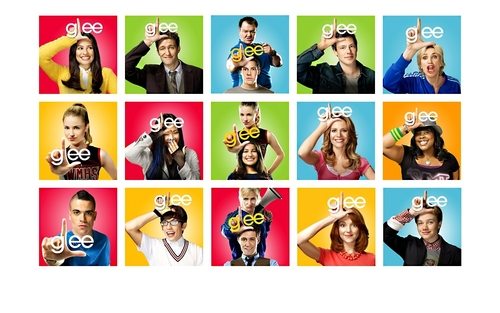 Glee wallpaper possibly with Anime entitled Glee wallpaper