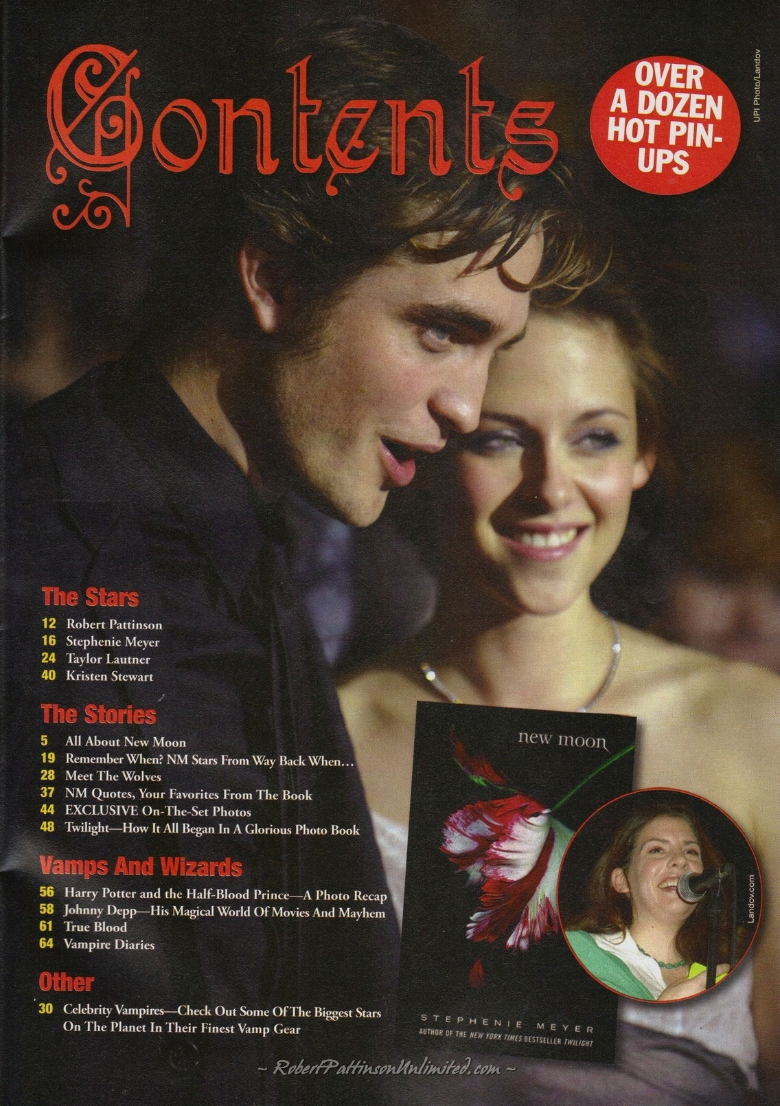 HQ Scans from ndoto Film #7 - New Moon Collectors Edition