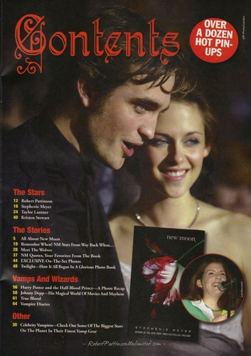 HQ Scans from Fantasy Film #7 - New Moon Collectors Edition