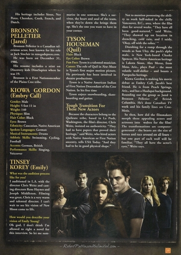 HQ Scans from pantasiya Film #7 - New Moon Collectors Edition