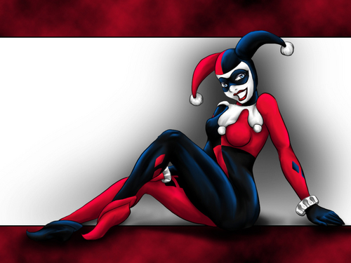 Harley Quinn wallpaper possibly containing Anime titled Harley Quinn